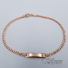 Auksinė apyrankė AA157; 17 cm