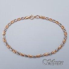 Auksinė apyrankė AA77; 18,5 cm