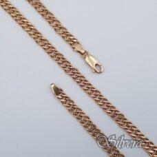 Auksinė grandinėlė AG106; 50 cm