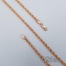 Auksinė grandinėlė AG151; 45 cm
