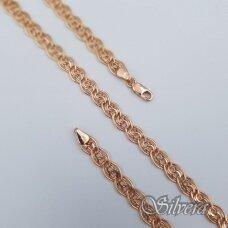 Auksinė grandinėlė AG154; 55 cm
