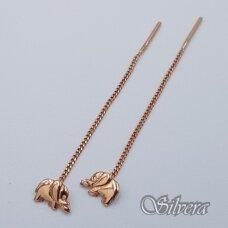 Auksiniai auskarai AU340