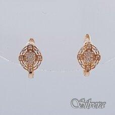 Auksiniai auskarai su cirkoniais AU147