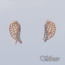 Auksiniai auskarai su cirkoniais AU295