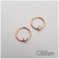 Auksiniai auskarai su cirkoniu AU14