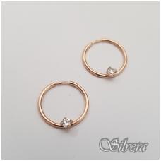 Auksiniai auskarai su cirkoniu AU15