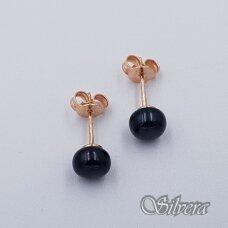 Auksiniai auskarai su kultivuotu perlu AU461