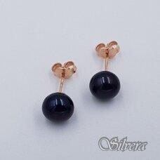 Auksiniai auskarai su kultivuotu perlu AU465