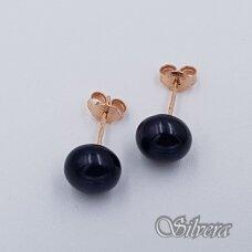 Auksiniai auskarai su kultivuotu perlu AU467