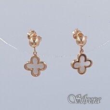 Auksiniai auskarai su perlamutru AU294