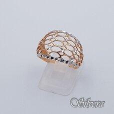 Auksinis žiedas AZ135; 18 mm
