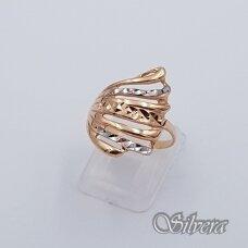 Auksinis žiedas AZ89; 17,5 mm