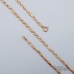 Auksinė grandinėlė AG114; 55 cm