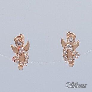 Auksiniai auskarai su cirkoniais AE17