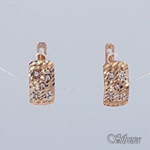 Auksiniai auskarai su cirkoniais AU191