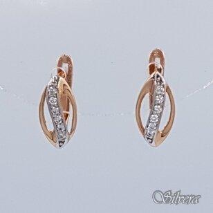 Auksiniai auskarai su cirkoniais AU355