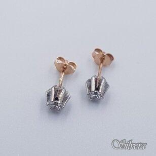 Auksiniai auskarai su cirkoniu AU458