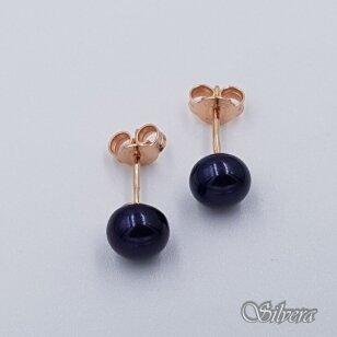 Auksiniai auskarai su kultivuotu perlu AU463