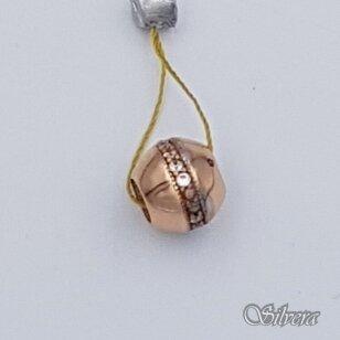 Auksinis pakabukas su cirkoniais AP106