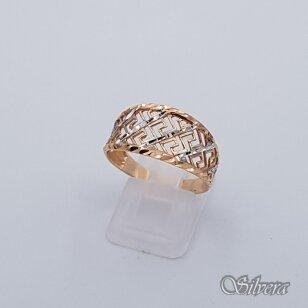 Auksinis žiedas AZ202; 22 mm