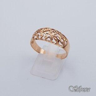 Auksinis žiedas AZ206; 20,5 mm
