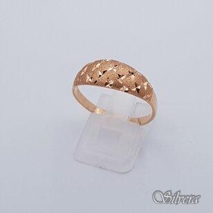 Auksinis žiedas AZ210; 21 mm