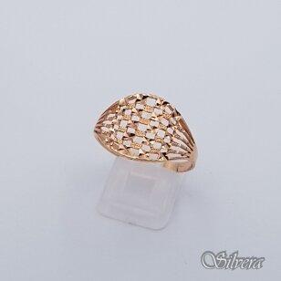 Auksinis žiedas AZ211; 21 mm