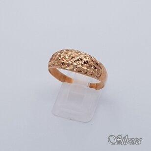 Auksinis žiedas AZ213; 22 mm
