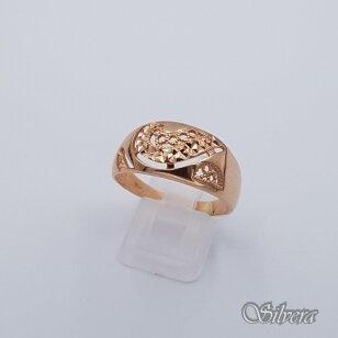 Auksinis žiedas AZ214; 22 mm