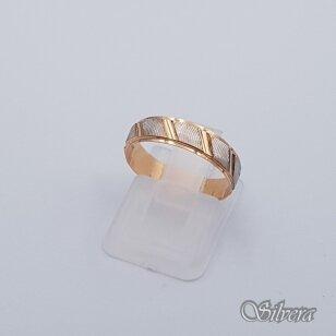 Auksinis žiedas AZ256; 16,5 mm