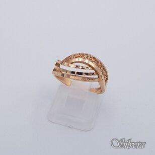 Auksinis žiedas AZ257; 16,5 mm
