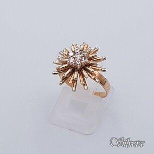 Auksinis žiedas AZ263; 18 mm