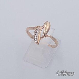 Auksinis žiedas AZ438; 19 mm