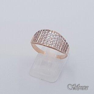 Auksinis žiedas AZ449; 19,5 mm