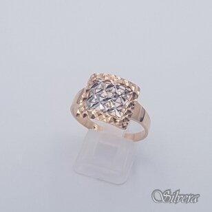 Auksinis žiedas AZ460; 21 mm