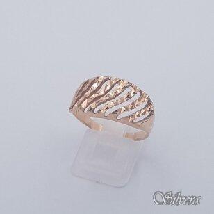 Auksinis žiedas AZ461; 21 mm