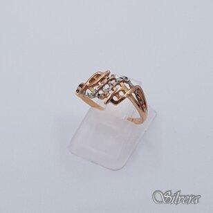 Auksinis žiedas AZ82; 16 mm