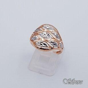 Auksinis žiedas AZ88; 17,5 mm