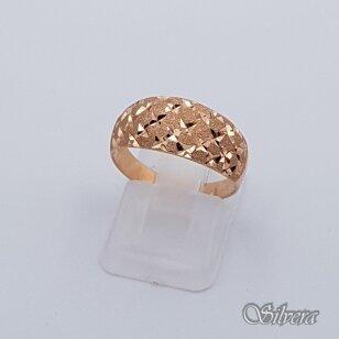 Auksinis žiedas AZ90; 17,5 mm