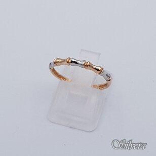 Auksinis žiedas AZ94; 17,5 mm