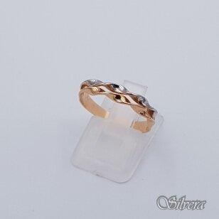 Auksinis žiedas AZ97; 16,5 mm