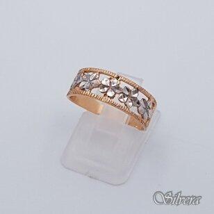Auksinis žiedas AZ98; 17,5 mm