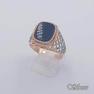 Auksinis žiedas su cirkoniu AZ483; 22 mm