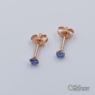 Auksiniai auskarai su cirkoniu AU378