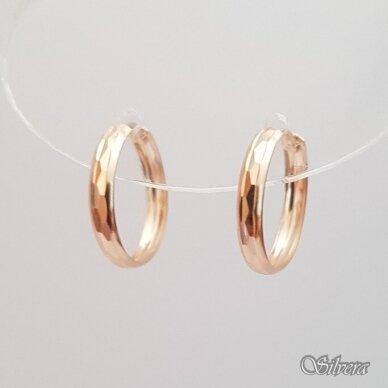 Auksiniai auskarai AU22