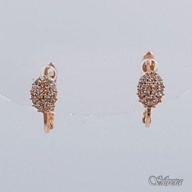 Auksiniai auskarai su cirkoniais AU150