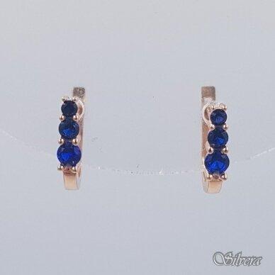 Auksiniai auskarai su cirkoniais AU235