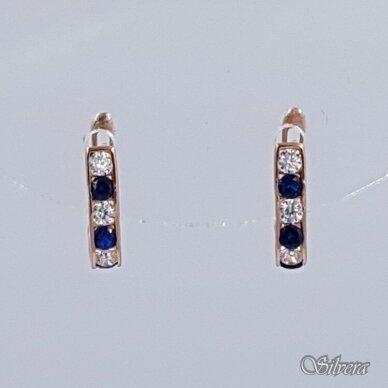 Auksiniai auskarai su cirkoniais AU371