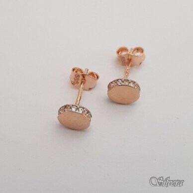 Auksiniai auskarai su cirkoniais AU69