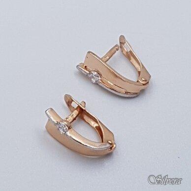 Auksiniai auskarai su cirkoniu AE21 2